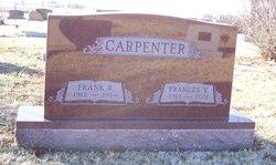Frances V <i>Mayfield</i> Carpenter