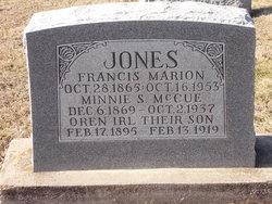 Minnie S. <i>McCue</i> Jones