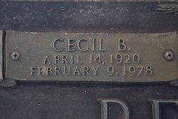 Cecil B. Bedgood