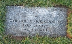 Cyril Frederick Kennedy