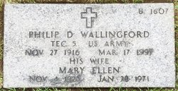 Philip D Wallingford