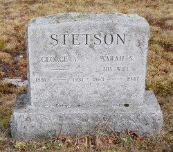 Sarah Seabury <i>Benson</i> Stetson