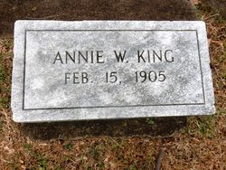 Annie W. King
