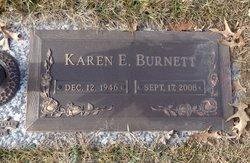 Karen E. <i>Oberg</i> Burnett