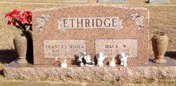 Mack Willard Ethridge