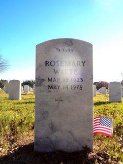Rosemary <i>Atwood</i> Witte
